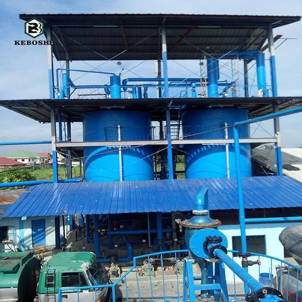 废机油蒸馏再生的利用价值