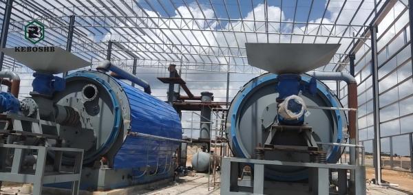 废轮胎炼油设备厂家分享废塑料炼油过程中的一些工序介绍