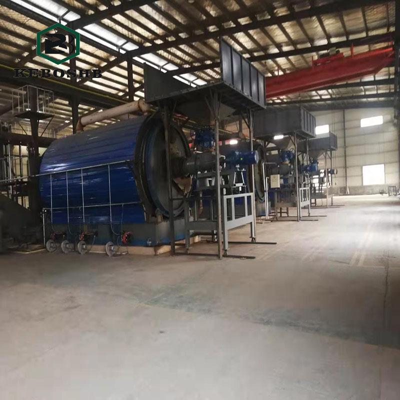 废油泥干馏裂解设备