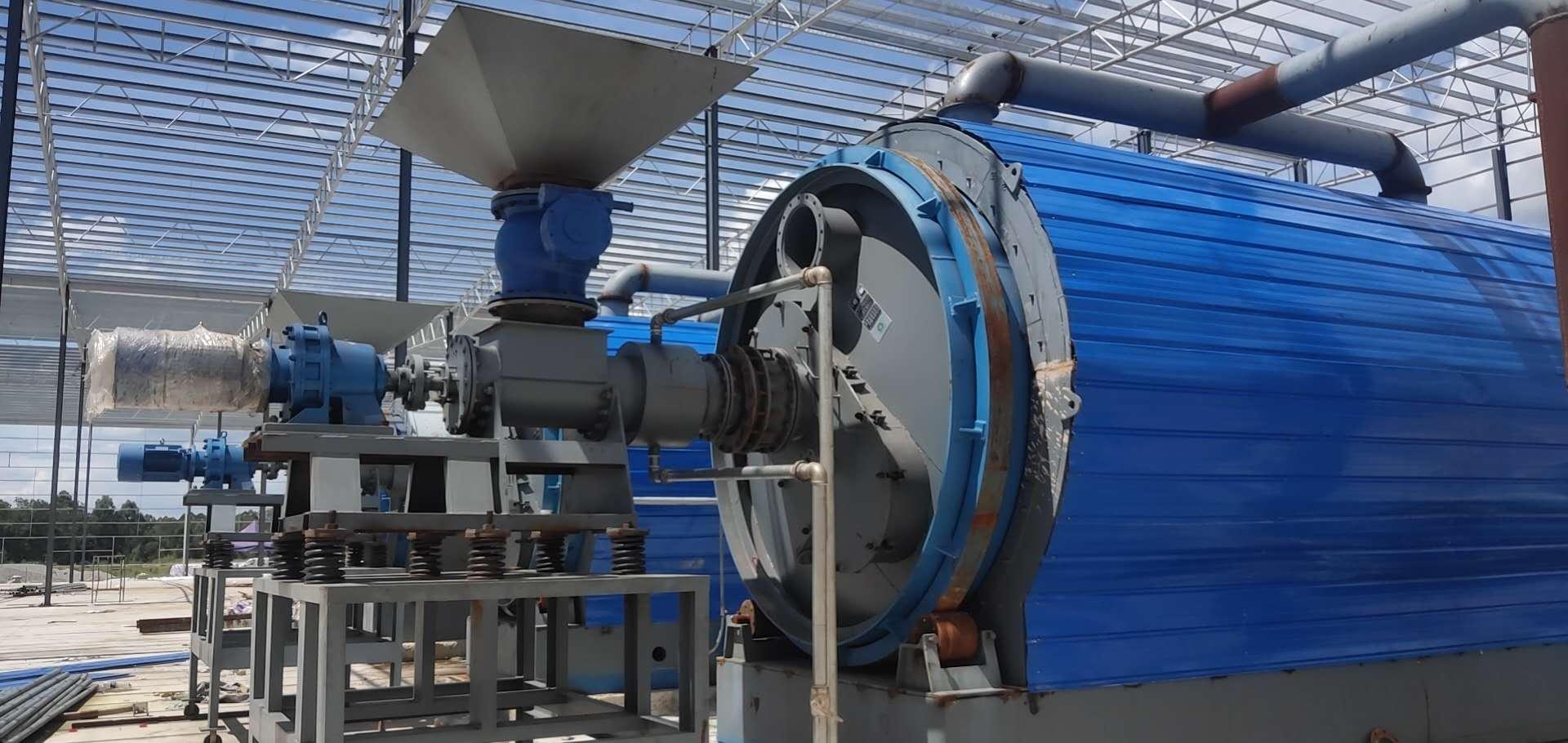 废轮胎炼油设备生产厂家