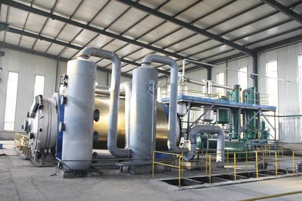 山东废塑料裂解炼油设备